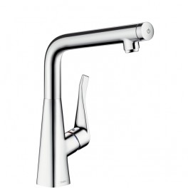 Hansgrohe Metris Select Single lever kitchen mixer