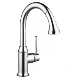 Hansgrohe Talis Classic Single lever kitchen mixer with pull-out spray