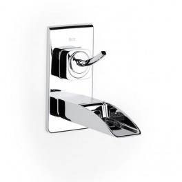 Roca Evol Built-in basin mixer with flow limiter