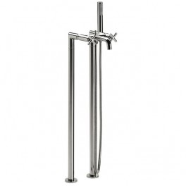 Roca Loft Wall-mounted bath-shower mixer