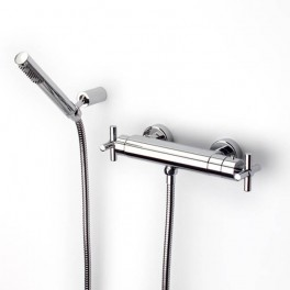 Roca Loft Thermostatic wall-mounted shower mixer