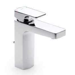 Roca L90 Basin mixer with aerator and pop-up waste
