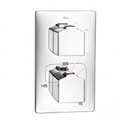 Roca L90 Thermostatic built-in shower mixer