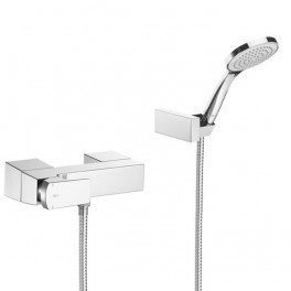 Roca L90 Wall-mounted bath mixer with automatic diverte