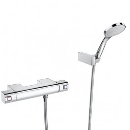 Roca L90 Thermostatic wall-mounted shower mixer