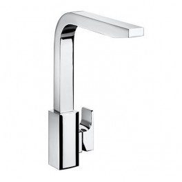 Roca L90 Kitchen sink mixer with swivel spout, Cold Start