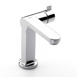 Roca Singles Basin mixer, progressive technology, with pop-up waste