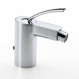 Roca Moai Bidet mixer with pop-up waste or retractable chain