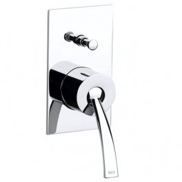 "Roca Moai 1/2"" built-in bath-shower mixer with automatic diverter"