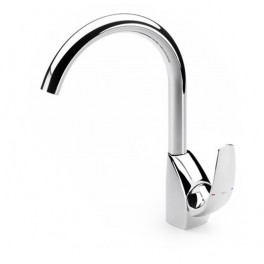 Roca M2 Kitchen sink mixer with swivel spout