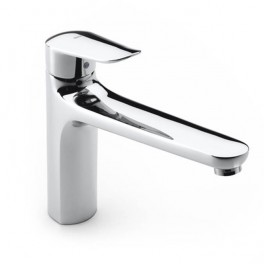 Roca Logica Kitchen sink mixer with swivel spout