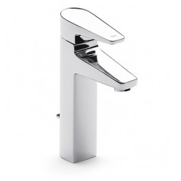 Roca Esmai High-neck basin mixer with pop-up waste