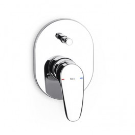 "Roca Monodin 1/2"" built-in shower mixer with automatic diverter"