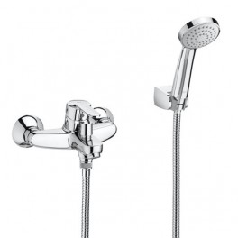 Roca Victoria Wall-mounted bath mixer with automatic diverter