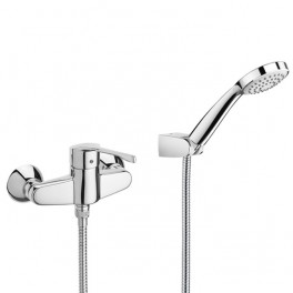 Roca Victoria PRO - Wall-mounted shower mixer with automatic diverter