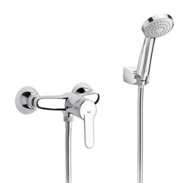 Roca Victoria Wall-mounted shower mixer with automatic diverter