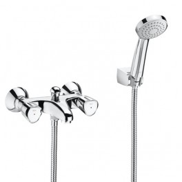 Roca Brava Wall-mounted bath-shower mixer