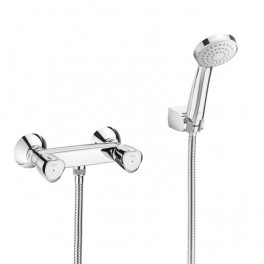 Roca Brava Wall-mounted shower mixer