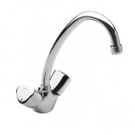 Roca Brava Kitchen or laundry sink mixer with swivel spout