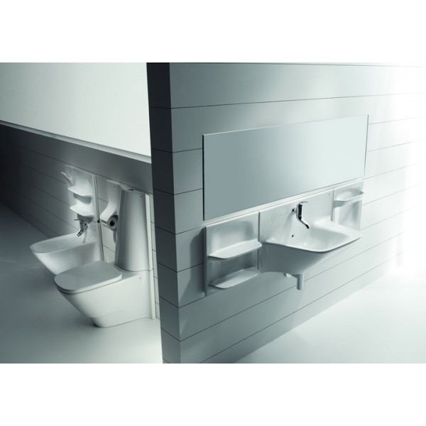 Roca Wc Lavabo.Roca Frontalis Full Vitreous China Close Coupled Wc With Dual Outlet