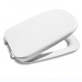 Roca Frontalis Soft-closing lacquered seat and cover for toilet