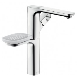 Axor Urquiola Single lever basin mixer 300 with or without waste, with soap and glass