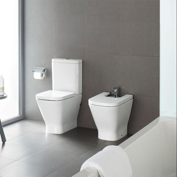 Roca The Gap Seat And Cover For Toilet