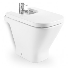 Roca The Gap Compact vitreous china bidet