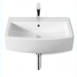 Roca Hall Lavabo de porcelana suspendido 650x495x135 mm