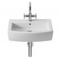 Roca Hall Lavabo de porcelana suspendido 550x485x140 mm
