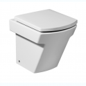 Roca Hall Compac single floorstanding WC with dual outlet 355x500x400 mm