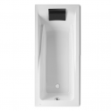 Roca Hall Rectangular acrylic bath 1700x720x420 mm