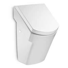 Roca Hall Vitreous china urinal with cover and back inlet 300x280x490