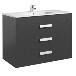 Roca Debba Unik 1000x460 (base unit with three drawers and basin)