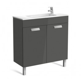 Roca Debba Unik 800x360 (compact base unit with doors and basin)