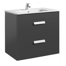 Roca Debba Unik 800x460 (base unit with two drawers and basin)