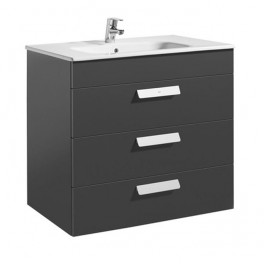 Roca Debba Unik 800x460 (base unit with three drawers and basin)