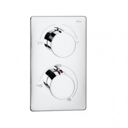 Roca T-1000 Thermostatic built-in mixer for bath-shower