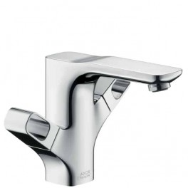 Axor Urquiola 2-handle basin mixer for standard basins with waste set
