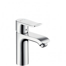 Metris Single lever basin mixer for standard basins with waste set - 110