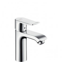Metris Single lever basin mixer with pop-up waste set and CoolStart