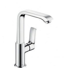Metris Single lever basin mixer for standard basins without, width or Push-Open  waste set