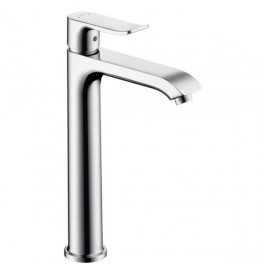 Metris Single lever basin mixer 260 width or without waste set