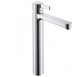 Metris S Single lever highriser basin mixer without waste set