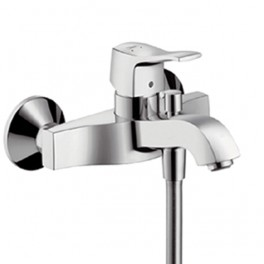 Metris Classic Single lever bath and shower mixer for exposed installation