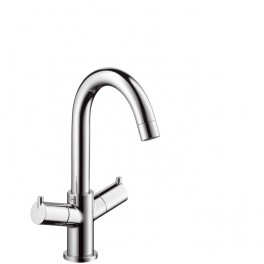 Talis Two-handle basin mixer with swivel spout 120°