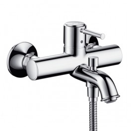 Talis Classic Single lever bath and shower mixer for exposed installation