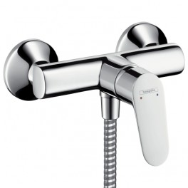 Focus Single lever shower mixer for exposed fitting