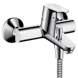 Focus Single lever bath and shower mixer for exposed installation