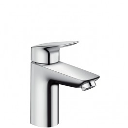 Hansgrohe Logis Single lever basin mixer 100 with o without pop-up waste set